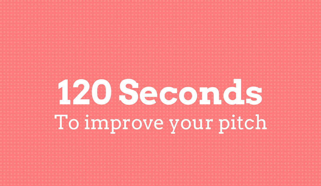 Improve Your Pitch Drastically Within 120 Seconds
