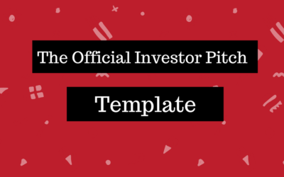 Pitch Tips Pitch Skills - Angel investor pitch template