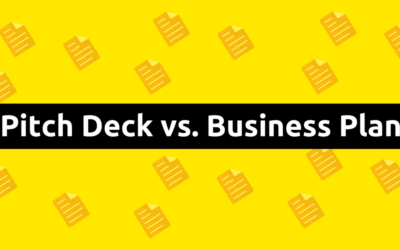 Pitch Deck vs. Business Plan – 3 Differences You Should Know About