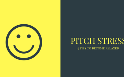 5 Tips On How To Pitch Relaxed And Confident
